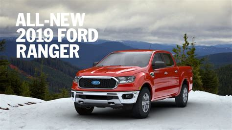 Ford Ranger Truck by New 2019 Ford Ranger Midsize Truck Back In The
