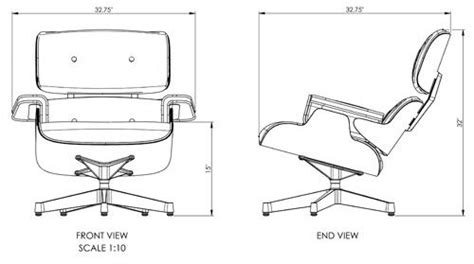 Eames Lounge Chair Dimensions by The Library Lounge Chair Dimensions Compare To The Herman