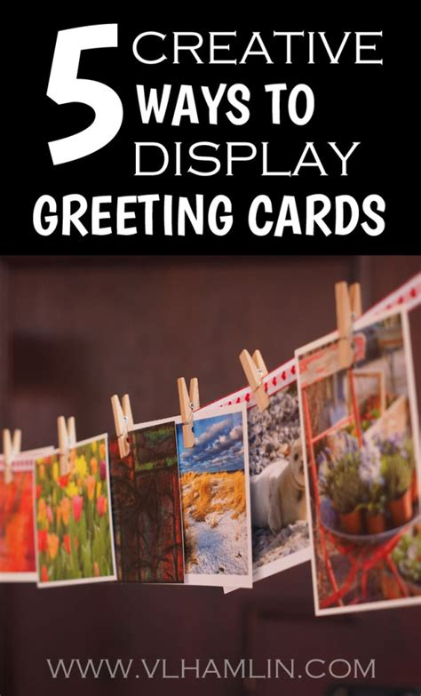 how to make creative greeting cards at home 5 creative ways to display greeting cards food design