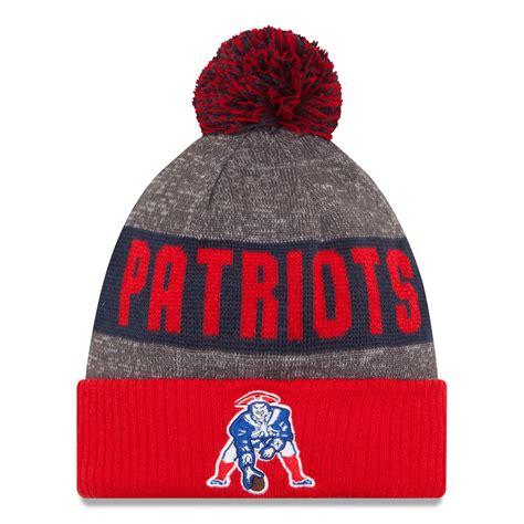 patriots knit hats new patriots new era 2016 nfl official sideline