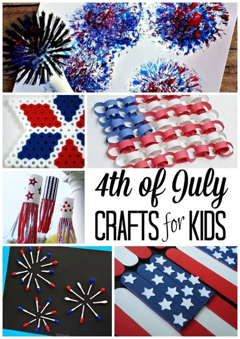 4th of july crafts for fireworks and july crafts on