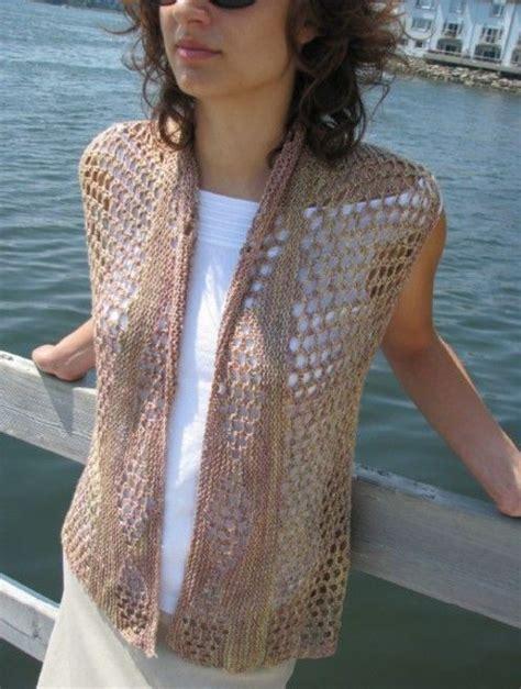 summer knitting patterns pin by joan shaull on knitting vests