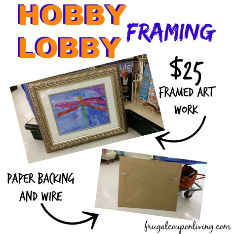 hobby lobby crafts for craft store coupons until 5 10 plus my hobby lobby framing