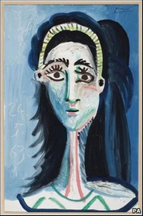 unseen picasso paintings found in garage picasso s tete de femme d