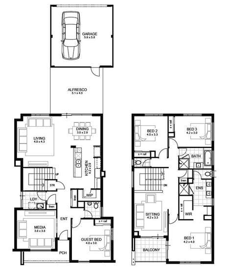 two storey house plans perth best 25 storey house plans ideas on
