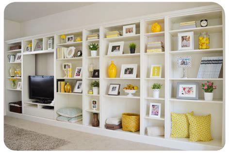 Simple Bathroom Decor Ideas billy bookcases to built ins ikea hackers