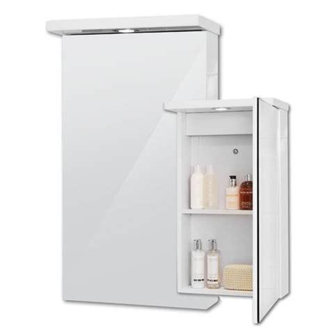 mirrored bathroom cabinet with shelves bathroom mirror cabinet spot light 2 shelves storage 400