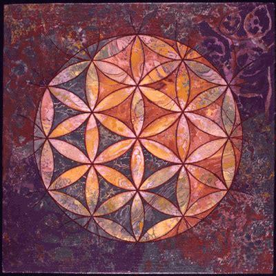 flor de la vida universo cristal
