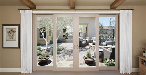 sliding vinyl patio doors montecito 174 series vinyl sliding patio doors milgard