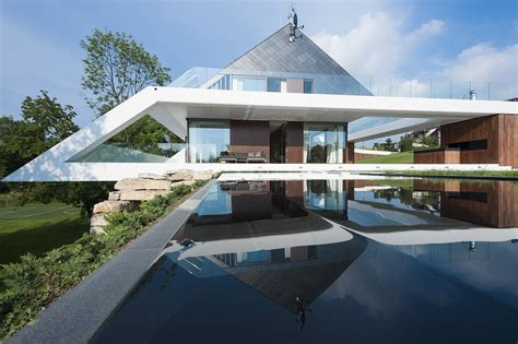 slanted roof house slanted roof line home modern house designs