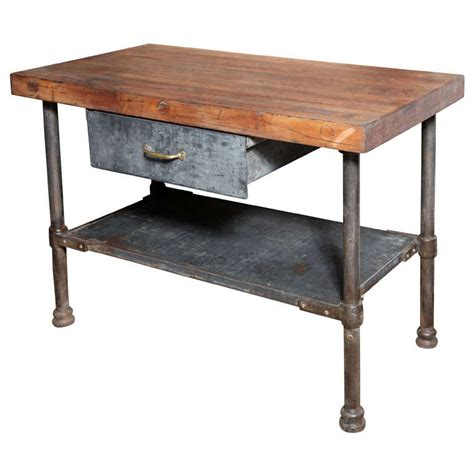 industrial kitchen work table vintage industrial kitchen work table at 1stdibs