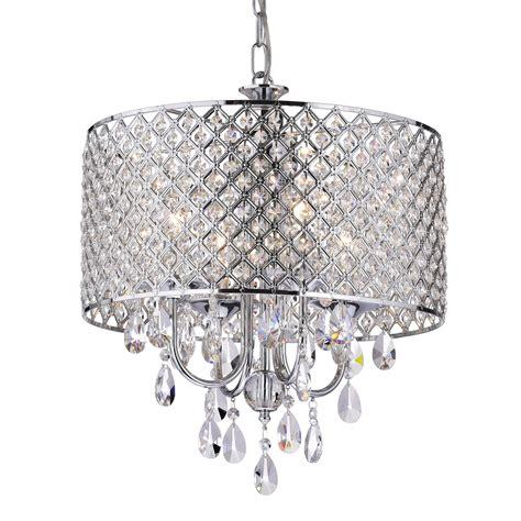 drum and chandelier edvivi marya 4 light drum chandelier wayfair