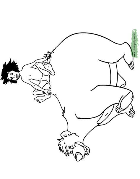 jungle book pictures to colour the jungle book coloring pages disney coloring book