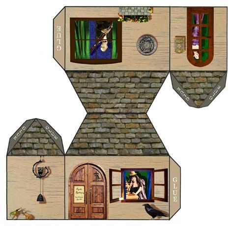 paper craft house tarot papercraft house open weekends ring bell