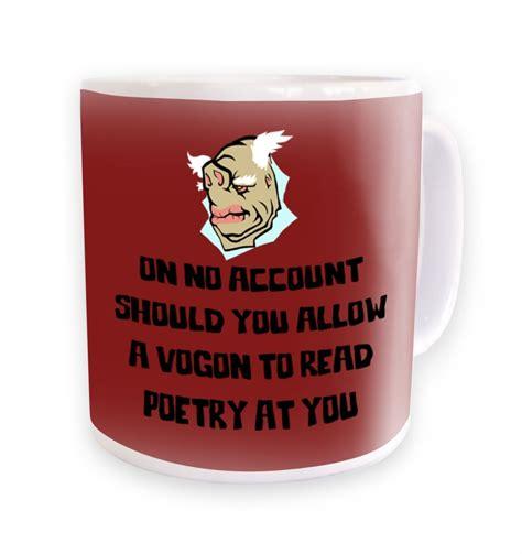 Vogon Poetry mug   Somethinggeeky