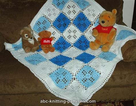 knitting motifs for babies and abc knitting patterns square motif baby blanket