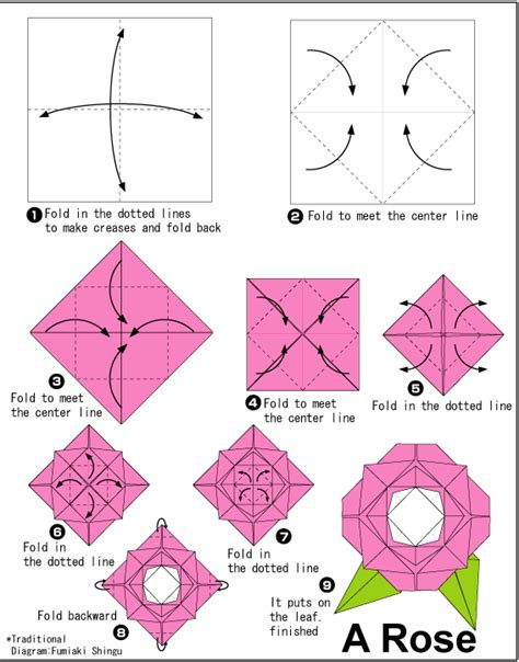 make a origami flower origami major project design