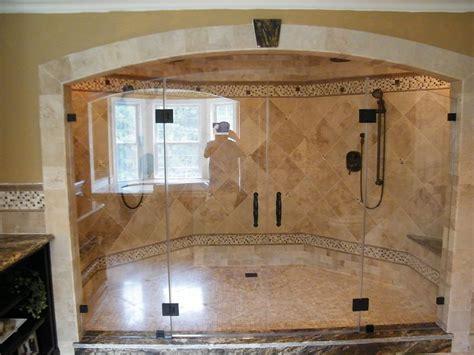 Custom Bathroom Ideas by Custom Shower Sizes Showerman Bathroom Walkin Showers
