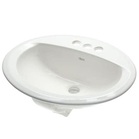 white drop in kitchen sink american standard aqualyn self drop in bathroom