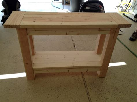sofa table woodworking plans woodworking plans simple console table plans pdf plans