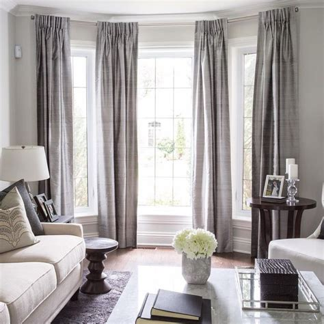 drapes window treatments 25 best ideas about bay window treatments on