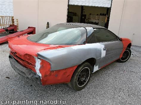 Spray Paint A Car