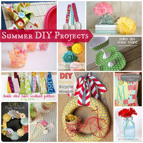 diy summer crafts for summer diy projects