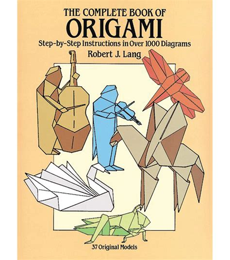 the complete book of origami dover publications the complete book of origami at joann