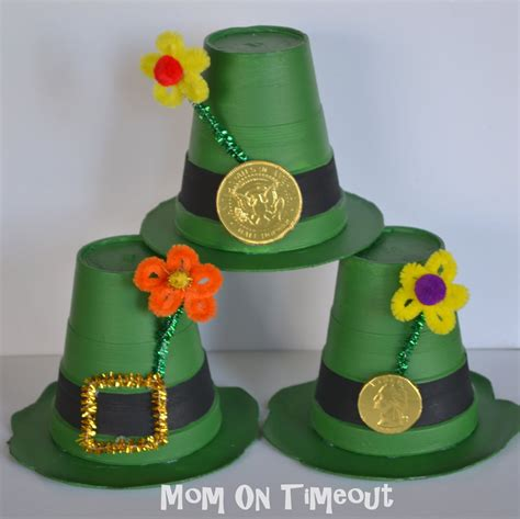 craft hats for leprechaun hats craft on timeout