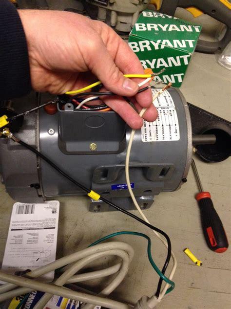 Marathon Ac Motor by 1 Hp Marathon Motor Wiring Diagram Wiring Library
