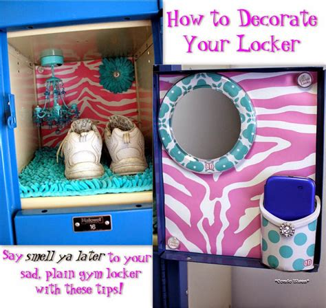 ideas for to make at school condo blues how to decorate a locker with lockerlookz