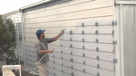 spray painter house how to spray a house airless spray painting exterior