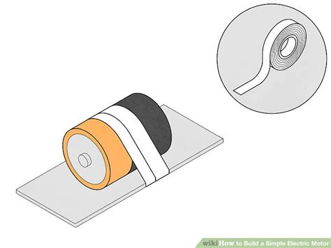 Simple Electric Motor by How To Build A Simple Electric Motor 10 Steps With Pictures