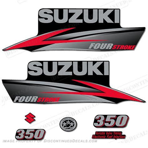 Suzuki Decals by Suzuki 350hp Df350 Decal Kit 2010