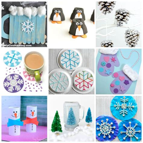 easy winter crafts easy winter crafts that anyone can make happiness