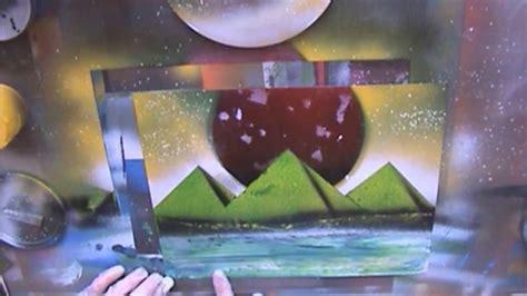 spray paint live tutorial back to basics spray paint live tutorial planets pyramids ground