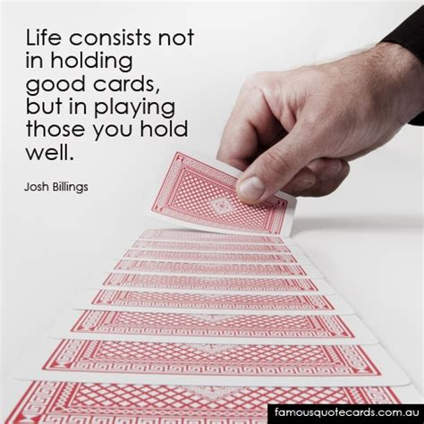 card quotes quotes about cards quotesgram