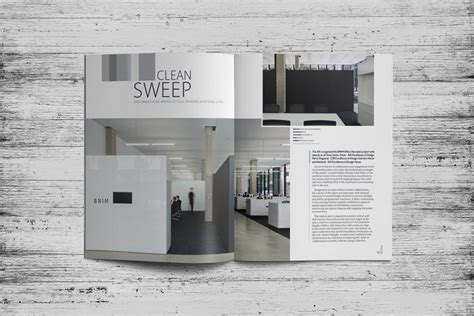 interior design layout iowa architect magazine layout design dlouhy branding