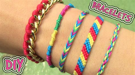 easy friendship bracelets with diy friendship bracelets 5 easy diy bracelet projects