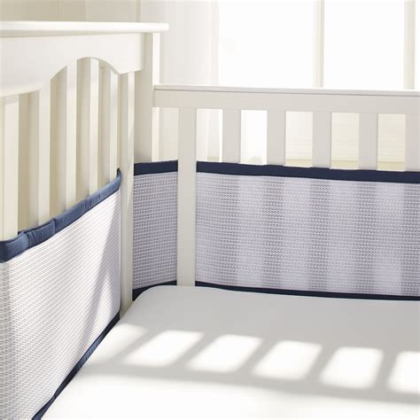 breathable baby crib liner breathablebaby 174 deluxe mesh crib liners breathablebaby