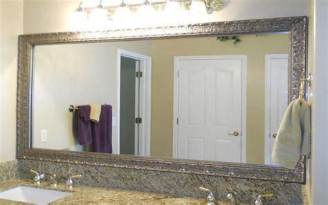 mirror frames for bathroom brushed nickel bathroom mirror as sweet wall decoration