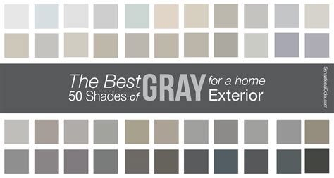 shades of grey colors the best shades of gray paint for a home exterior