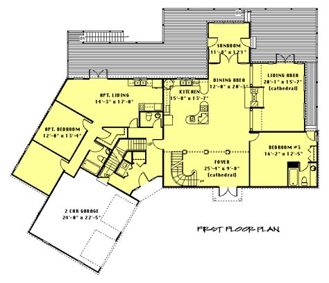 house plans with inlaw apartments modular home floor plans with inlaw apartment cottage house plans