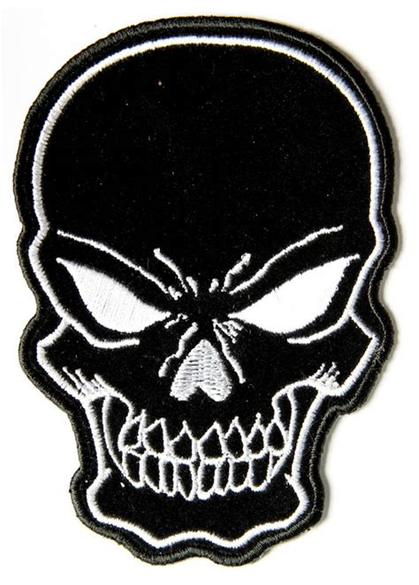 black skull black skull patch small skull patches thecheapplace