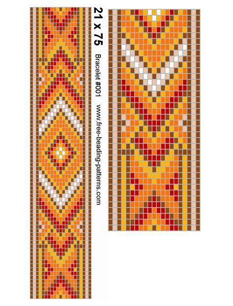 seed bead bracelet patterns loom cool beading loom patterns seed bead loom bracelet 001