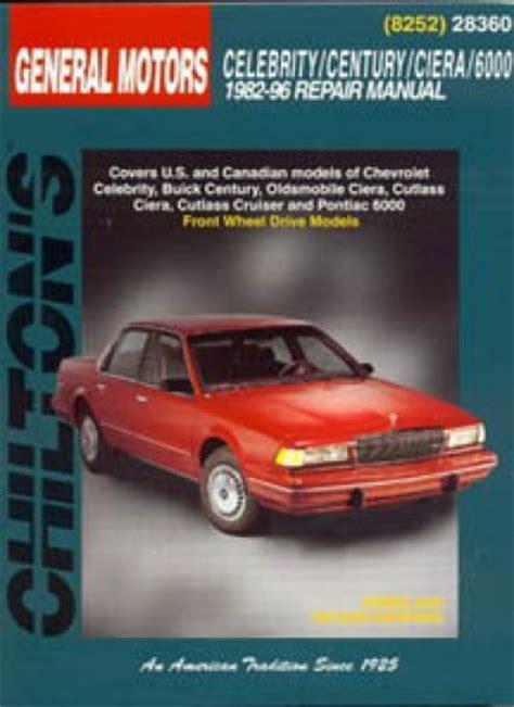car repair manuals online free 1995 oldsmobile cutlass supreme head up display service manual chilton car manuals free download 1994 oldsmobile cutlass supreme navigation