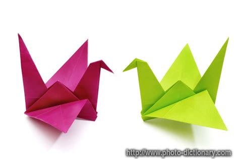 origami define origami birds photo picture definition at photo