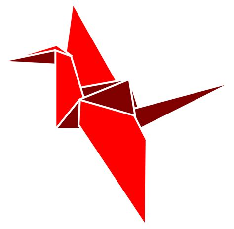 origami png clipart polygon flapping bird
