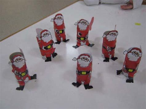 santa toilet paper roll craft crafts actvities and worksheets for preschool toddler and
