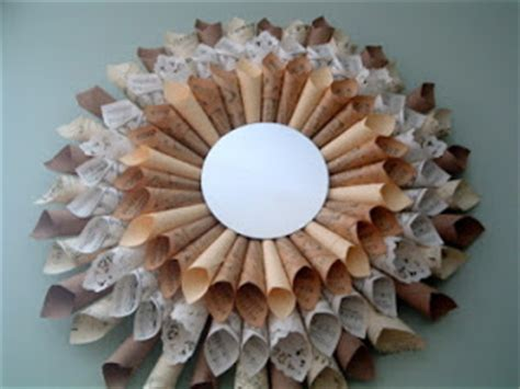 paper crafts for home decor 12 vintage takes on diy wall diy home decor more